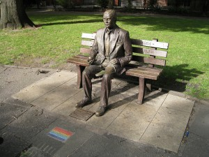 """Alan Turing Memorial"" image by Bernt Rostad"