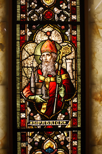 """Saint Patrick in Stained Glass"" by NeitherFanboy"