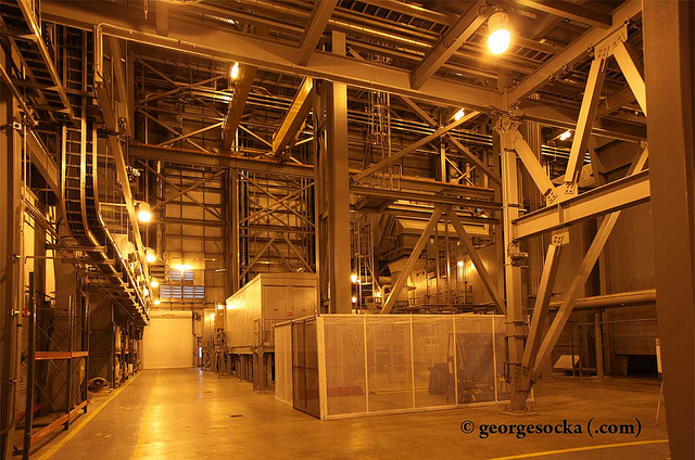 """Inside the Portlands Energy Centre"" image by George Socka of beachdigital"
