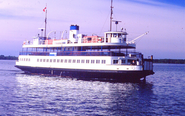 """Toronto Island Ferry in 1978"" by Bobolink (Robert Taylor)"