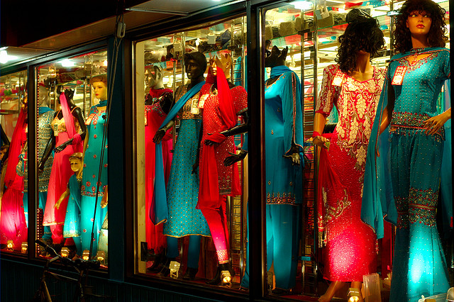 """South Asian Fashion Store in Toronto"" picture by Ian Muttoo"