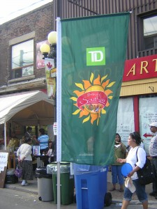 """TD Festival of South Asia Banner"" by Mike DeHaan in 2012"