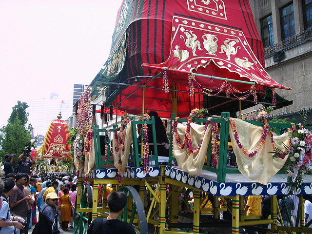 """Festival of India Parade in 2009"" image by Loozrboy"