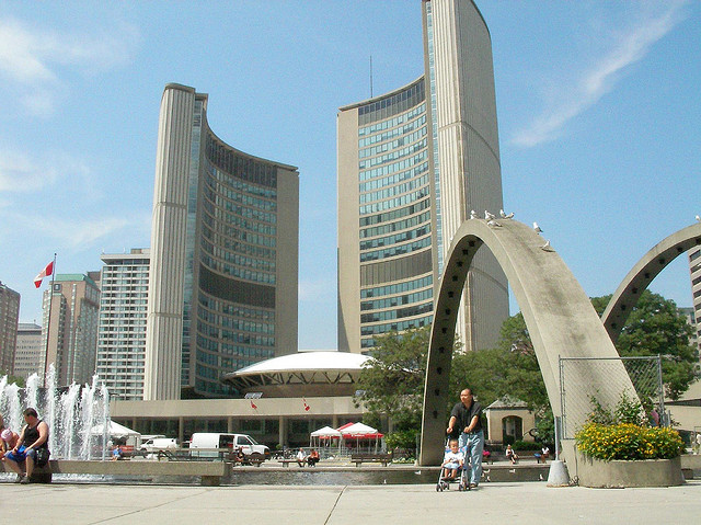"""Nathan Phillips Square in Toronto"" image by machernucha (Mike chernucha)"