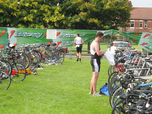 """North West Triathlon"" by (The contributor of this photo is David Hawgood)"