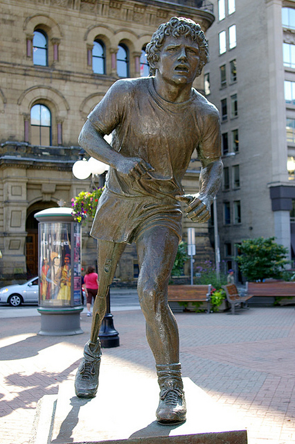 """Statue of Terry Fox in Ottawa"" image by vlitvinov (Vlad Litvinov)"