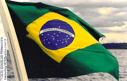"""Brazilian Flag"" image by Douglas Fernandes (South America ""addicted"")"