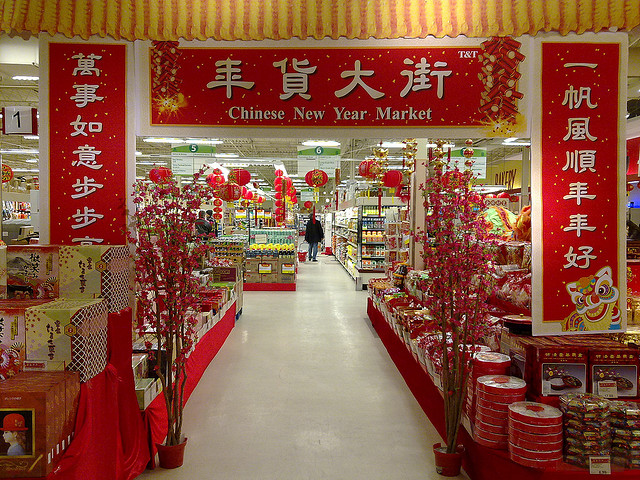 """Chinese New Year Shopping in Toronto"" image by Andrew Currie"