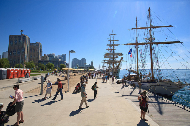 """Tall Ships in Toronto at Harbourfront in 2010"" image by Numinosity (Gary J Wood) under CC license."