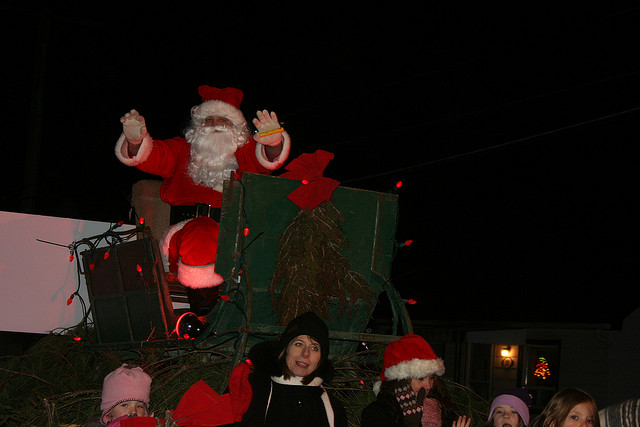 """2009 Santa Claus Parade in Stirling Ontario"" image by Robert Taylor (Bobolink)"