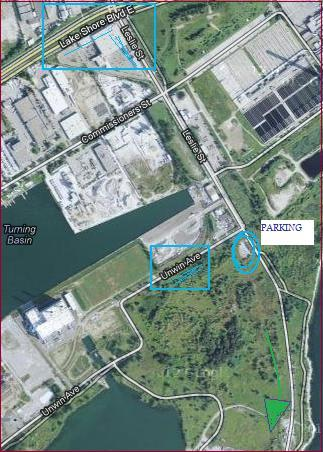 """Map for Tommy Thompson Park in Toronto"" image by Mike DeHaan via Google Maps"