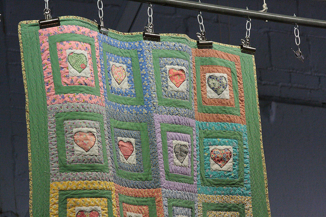 """""""A Quilt Hung for an Auction"""" image by Les_Stockton"""