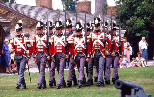 """Guarding Fort York in Toronto Ontario"" image by Bobolink (Robert Taylor) in Flickr"