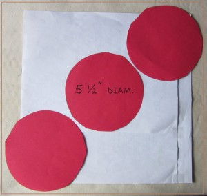 """3 Circles Too Large for a Unit Square"". Copyright image by Mike DeHaan."