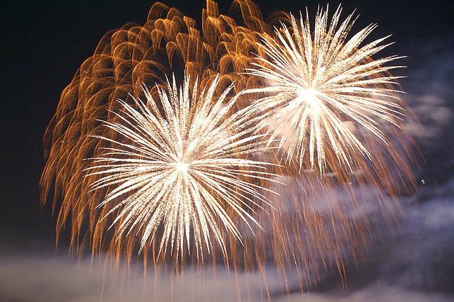 """Fireworks"" image by Karen Blaha (Vironevaeh) under a  Creative Commons license"