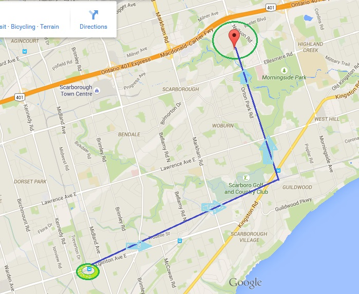 """TO2015 PanAm Aquatics and Field House at U of Toronto, Scarborough Campus"" image by Mike DeHaan via Google Maps"