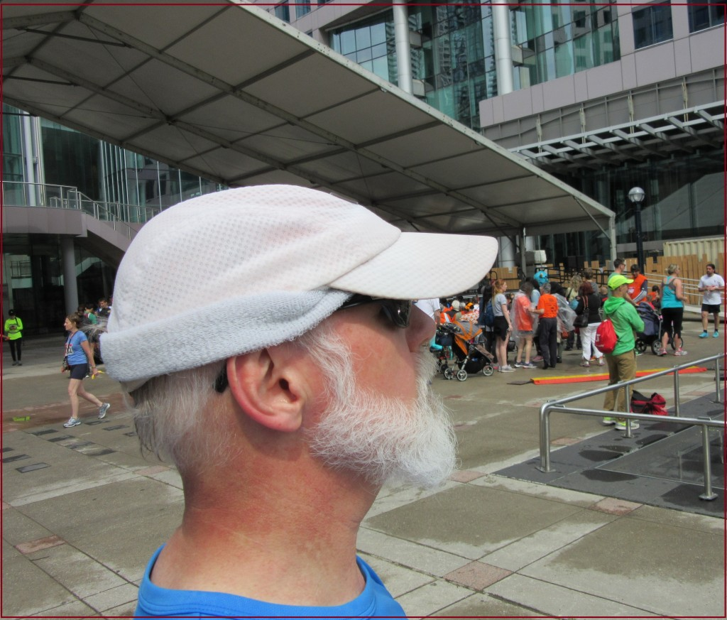 """Mike DeHaan after the 2015 Toronto Challenge Charity Run"" image (c) by Mike DeHaan"