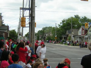 """Canada Day in Toronto at Cosburn and Woodbine"" image (c) by Mike DeHaan"