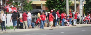 """Awaiting their 2015 Canada Day Parade in Toronto"" image (c) by Linda DeHaan"