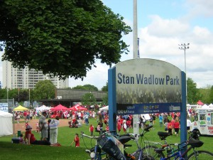 """Stan Wadlow Park on Canada Day"" image (c) by Mike DeHaan"