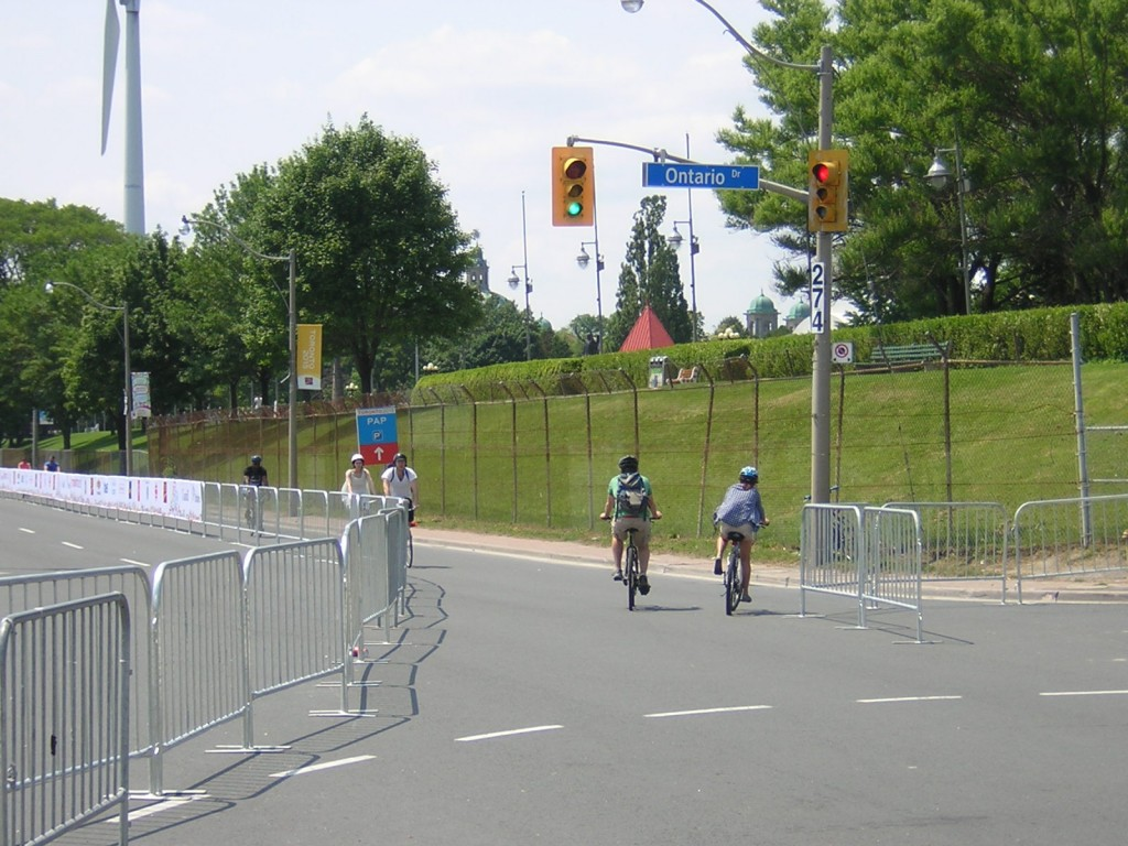 """""""Lakeshore looking west near the CNE during TO2015"""" image (c) by Mike DeHaan"""